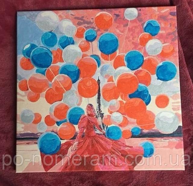 Раскраска по номерам Вера Брежнева фото нарисованной работы