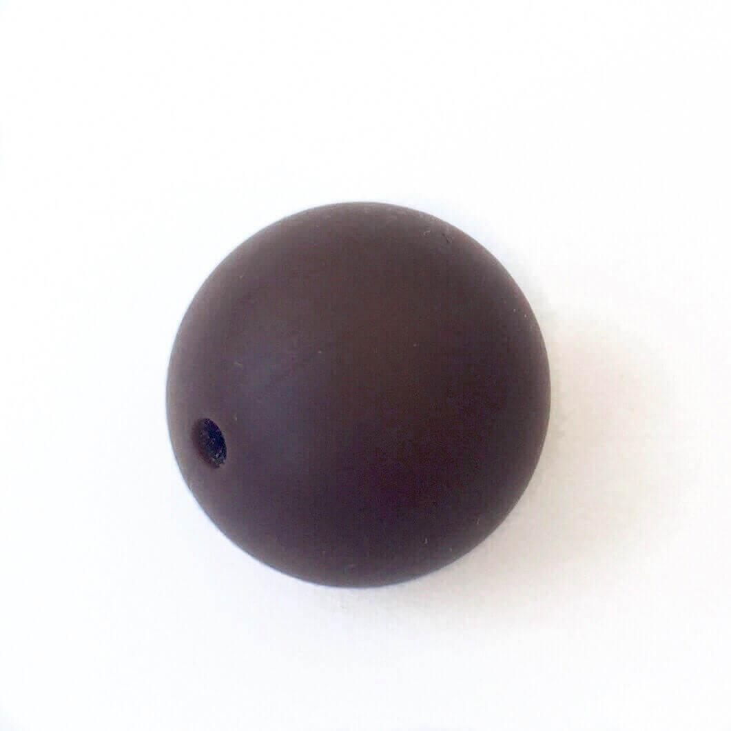 19 мм (коричневая) круглая