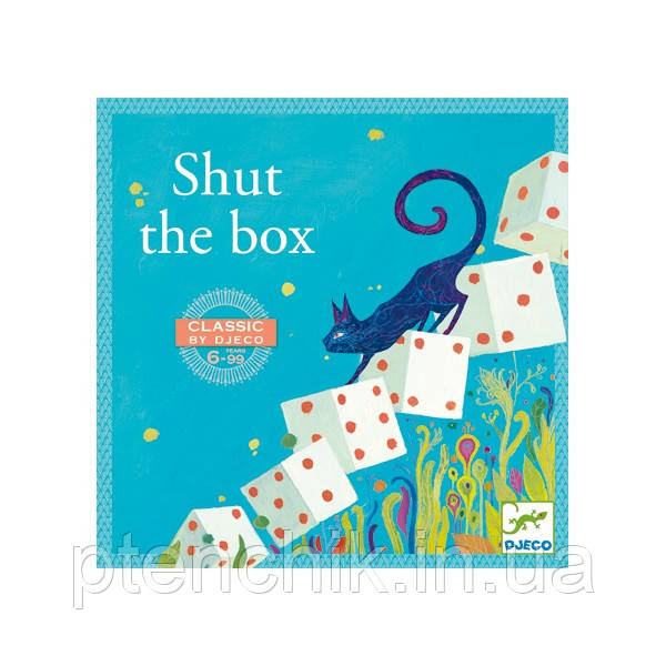 "DJECO гра ""Закрий коробку"",DJ05217, Shut the box"