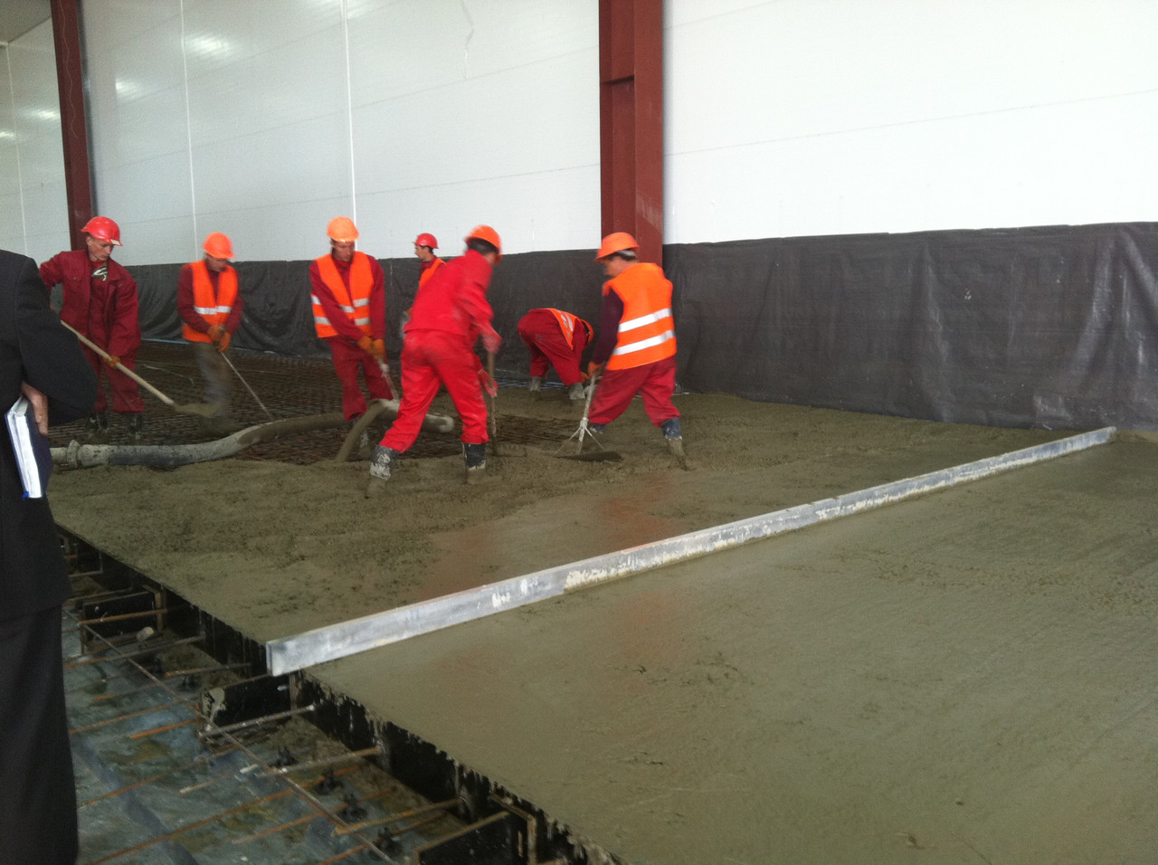 Укладка бетона слоями чем штукатурить керамзитобетон