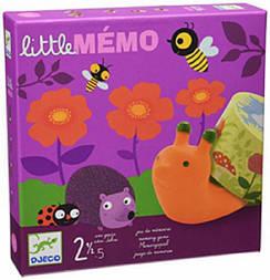 "DJECO Настільна гра ""LITTLE Memo"",DJ08552, Литл мемо"
