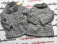 Пальто для девочек, 1-5 лет