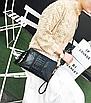 Сумка клатч женская черная, фото 2
