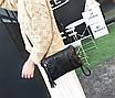 Сумка клатч женская черная, фото 3
