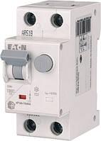 Дифференциальный автомат Eaton HNB-C10/1N/003 2P 10А 30мА тип C (195125)