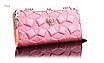 Кошелек женский лаковый Корона розовый, фото 2