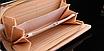 Кошелек женский лаковый Корона розовый, фото 3