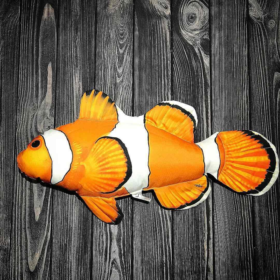 Декоративная подушка рыба-клоун