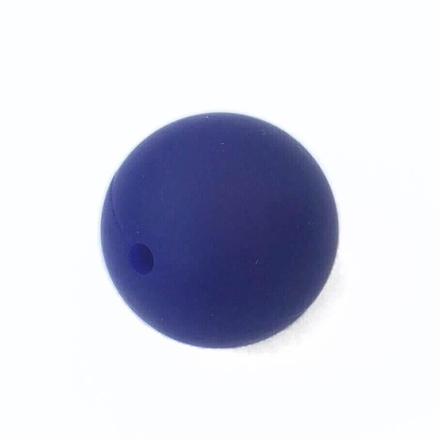 19 мм (темно-синяя) круглая