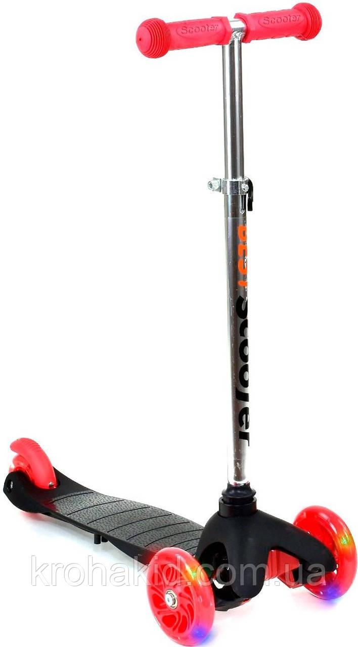 СамокатBest ScooterMini466-112  (Черный)
