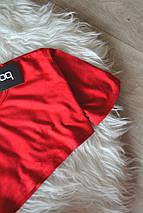 Новый ультракороткий красный топ Boohoo, фото 3