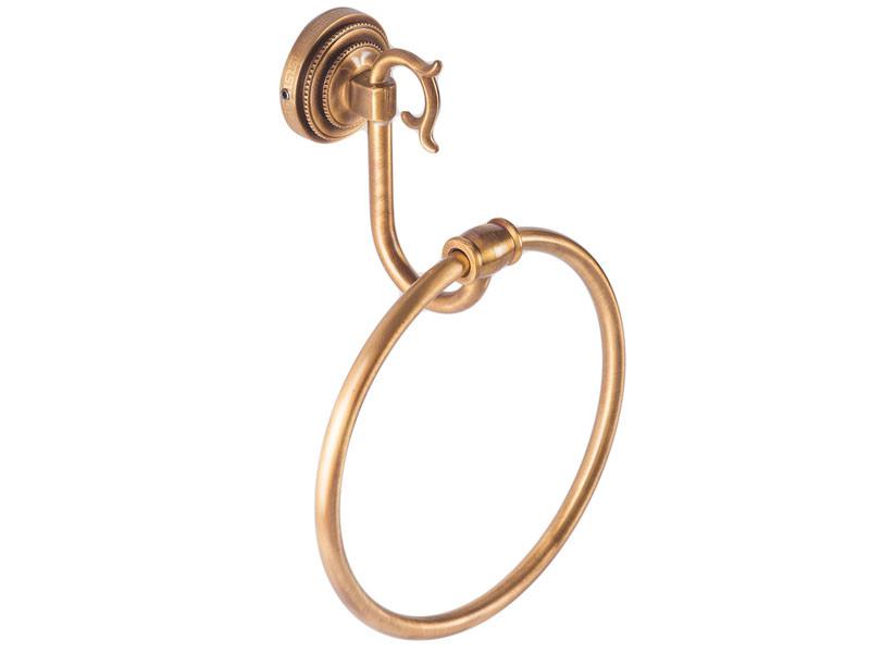Кільце для рушника KUGU Versace antique бронза