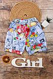 Шорты для девочек  Модель: 9541-002 с 30  по  34  размер цена 55, фото 5