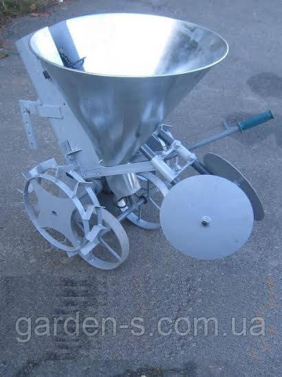 Картофелесажалка Ярило оцинкованая с тракнспортировочными колёсами
