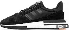 Мужские кроссовки Adidas ZX 500 RM (Core Black / Ftwr White / Core Black)