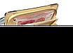 Кошелек клатч женский розовый лаковый, фото 4