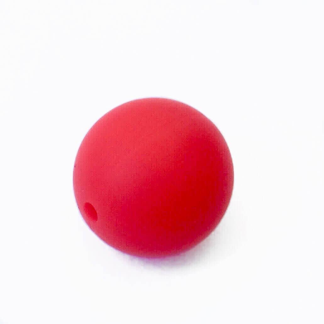 19 мм (красная) круглая