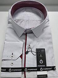 Рубашка  Fiorenzo классического кроя жаккард