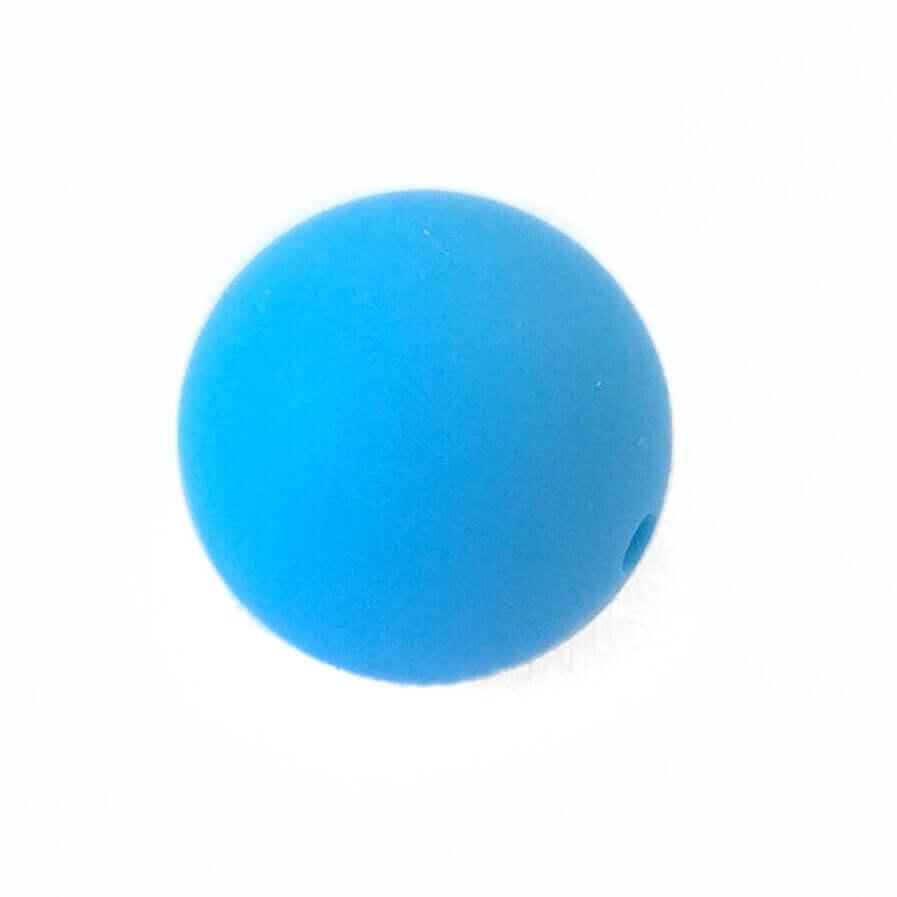19 мм (блакитна)кругла