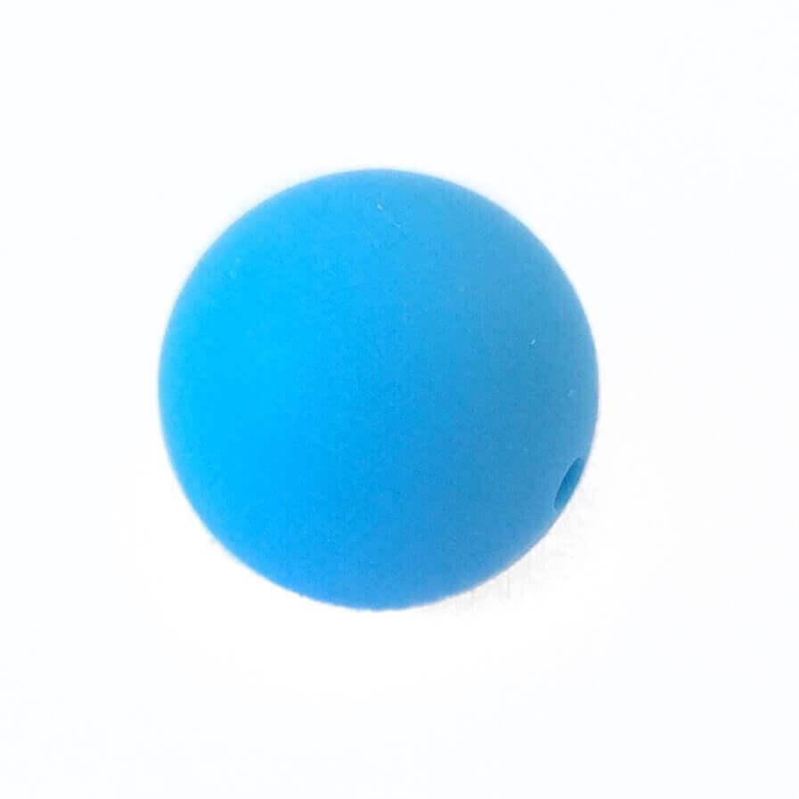 19 мм (голубая)круглая