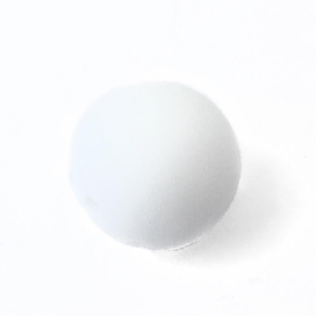 19 мм (біла ) кругла