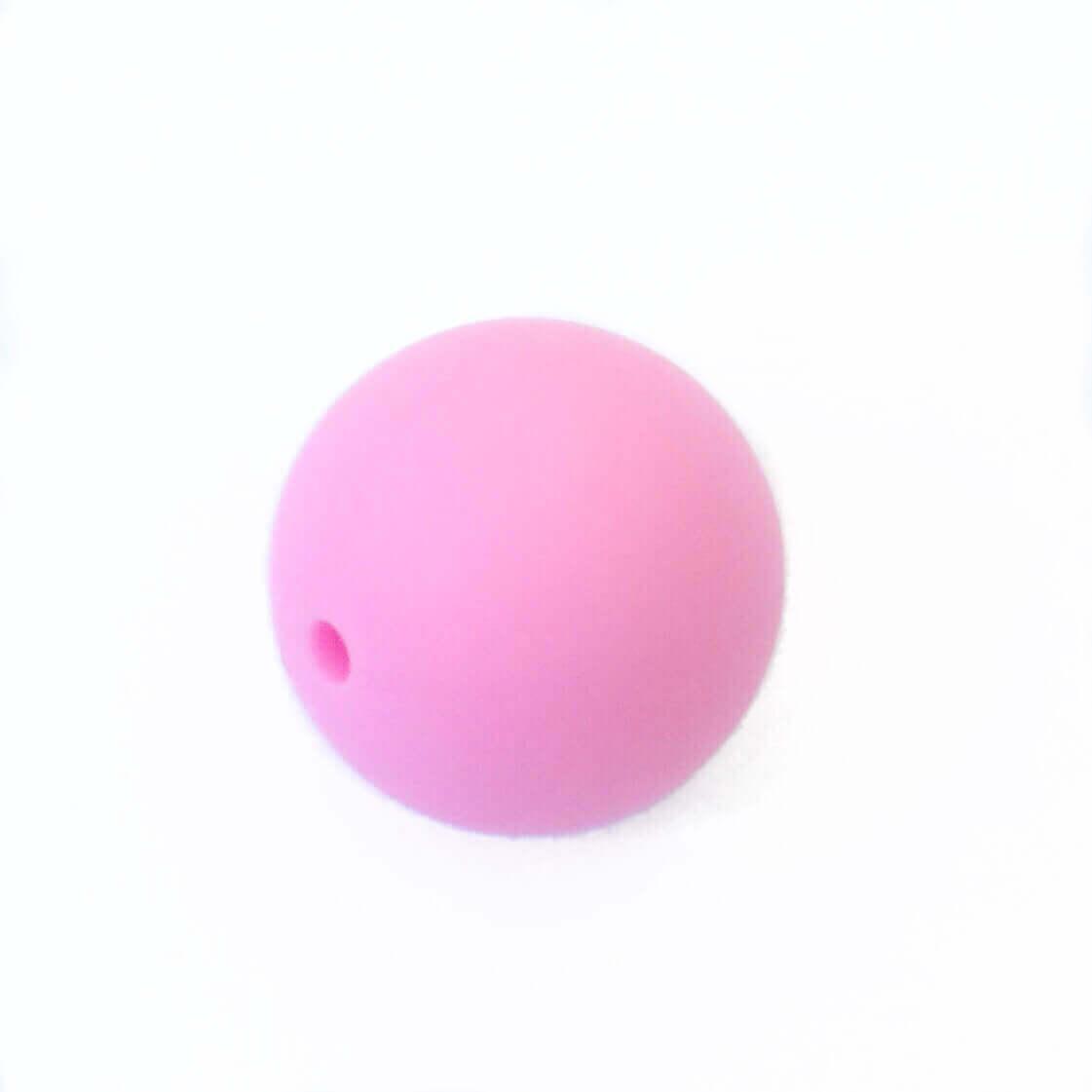 19 мм (розовая) круглая