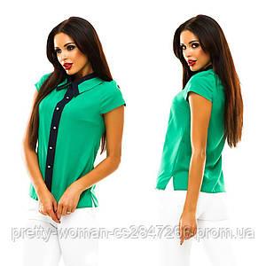Зеленая рубашка