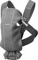 Рюкзак-кенгуру BabyBjorn Baby Carrier Mini, серый (21084)