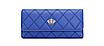 Кошелек женский синий Корона, фото 2