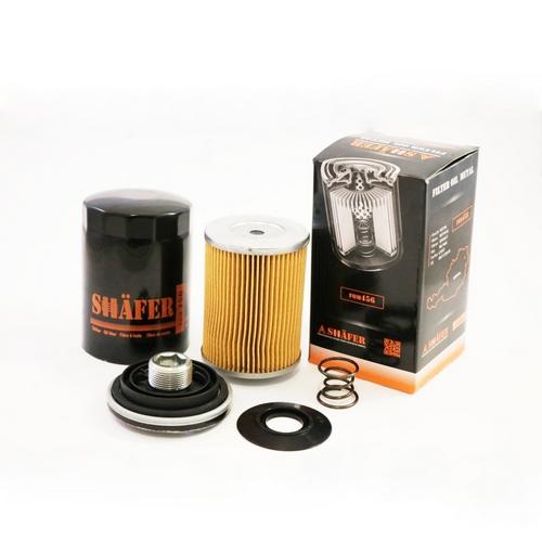 Масляный фильтр Volkswagen Caddy Кадди III двиг.1,6i h = 120 mm. (два клапана , 06A115561B. SHAFER Австрия
