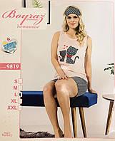 Женская пижама хлопок BOYRAZ Турция размер M(46) 9819