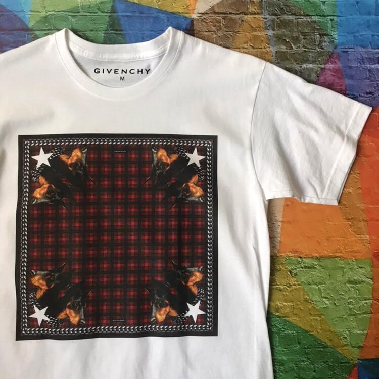Givenchy футболка белая • Бирка топ • Все размеры