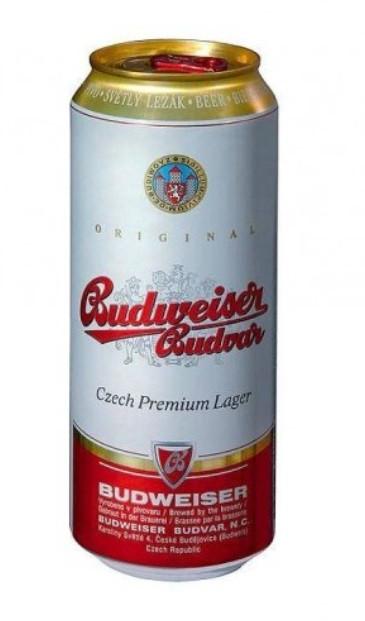 Пиво Светлое Budvar Vicepny ж/б 0,5 л Чехия