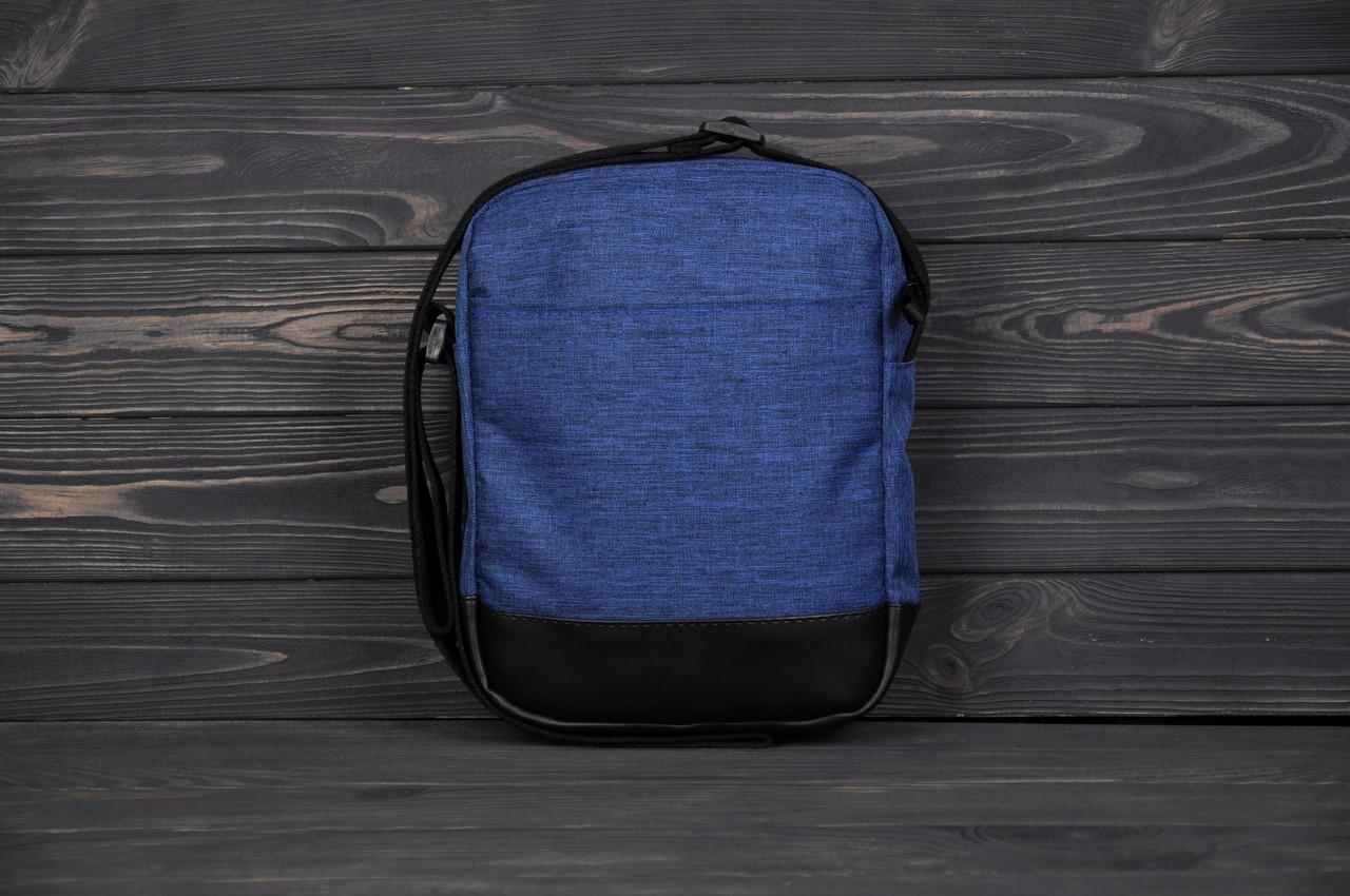 077ada9999d2 Барсетка мужская, сумка через плечо, мессенджер / темно-синий, цена 299  грн., купить в Киеве — Prom.ua (ID#891257164)