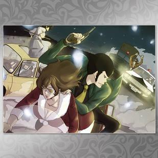 Плакат Аниме Lupin III 02