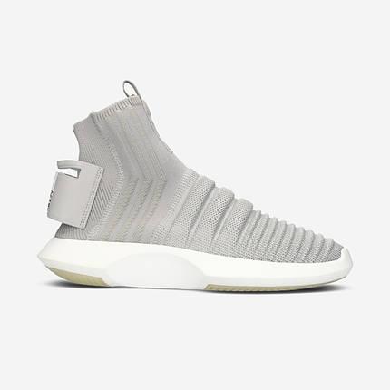Кроссовки Мужские Adidas CRAZY 1 ADV Sock PK Grey, фото 2