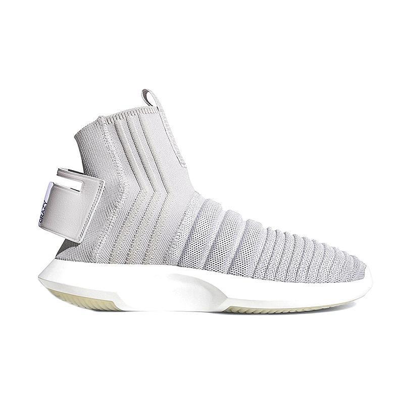 Женские Кроссовки Adidas CRAZY 1 ADV Sock PK Grey