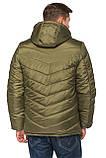 Стеганая мужская  куртка, фото 3