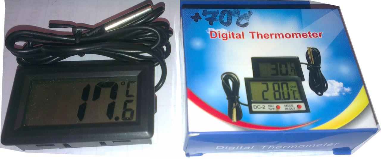 Термометр на инкубатор электронный с выносным капиляром