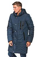 Зимняя удлиненная мужская куртка 2019