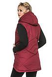 Удлинённый женский жилет , фото 2