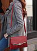 Сумка женская красная с кошельком, фото 2