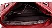 Сумка женская красная с кошельком, фото 3