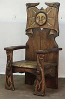 Эксклюзивная мебель, кресло из дуба