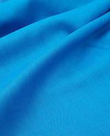 "Льняная костюмная ткань ""Aquamarine Turquoise"", фото 1"