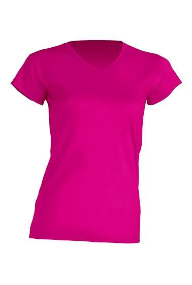 Женская футболка JHK TSRL PICO цвет светло-малиновый (FU)