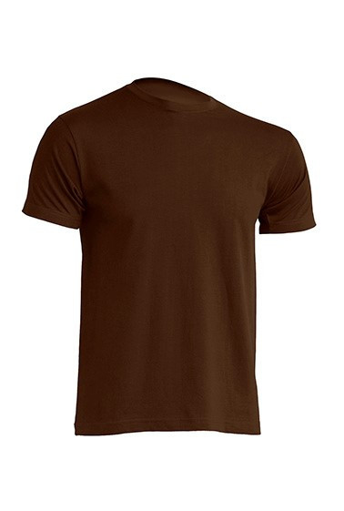 Мужская футболка JHK URBAN 150 Slim Fit (URBAN T-SHIRT) цвет коричневый (CH)