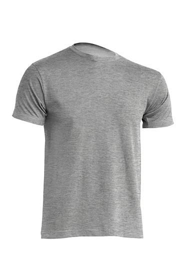 Мужская футболка JHK URBAN 150 Slim Fit (URBAN T-SHIRT) темно-серый меланж (GM)