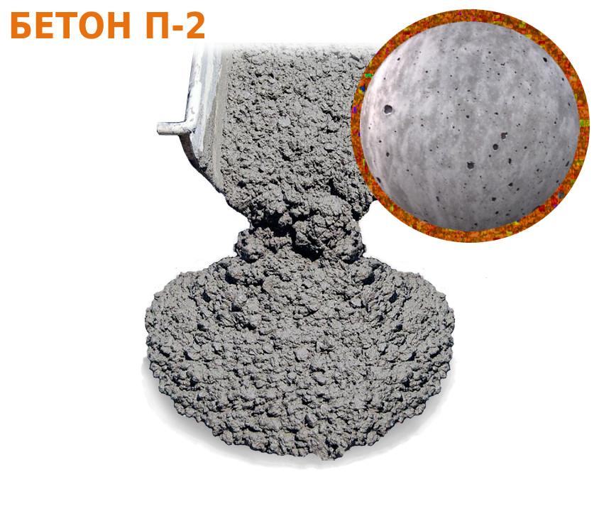 Бетон П2 (М100,150,200,250,350,400)