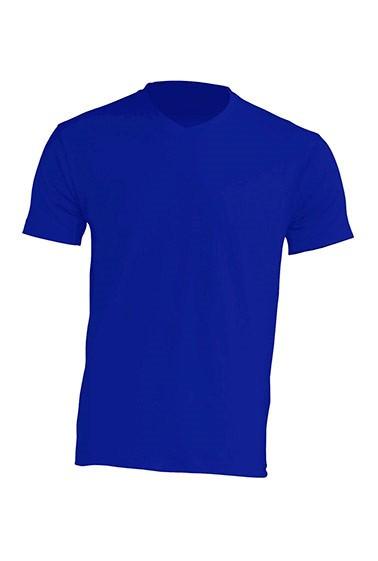 Мужская футболка JHK URBAN V-NECK цвет синий (RB)